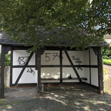 Vandalismus in Michelbach