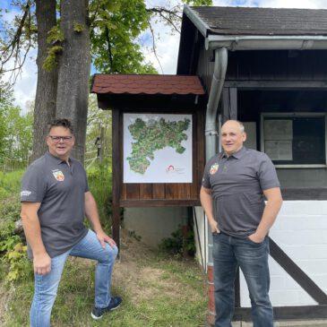 Neue Info-Tafel in Widderstein